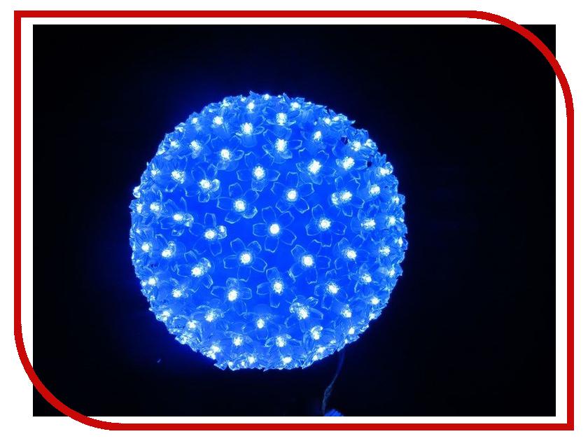 Светящееся украшение Neon-Night Фигура Шар 20cm 200-LED Blue 501-607 3d carbon fiber paper decoration sheet car sticker blue 12 x 20cm