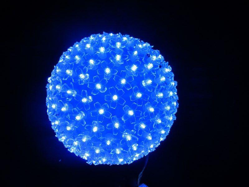 Светящееся украшение Neon-Night Фигура Шар 20cm 200-LED Blue 501-607