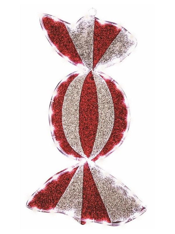Светящееся украшение Neon-Night Фигура Карамель 75x30cm 65-LED White 514-051