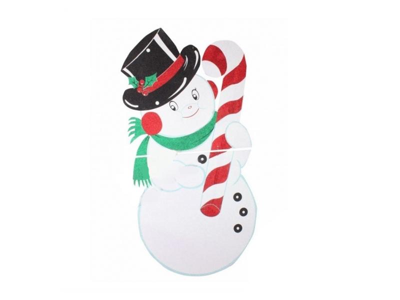 Игрушка Neon-Night Снеговик в шляпе 175x90cm 502-394