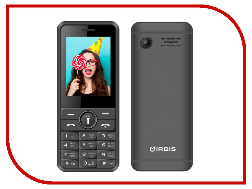 Сотовый телефон Irbis SF51 Black
