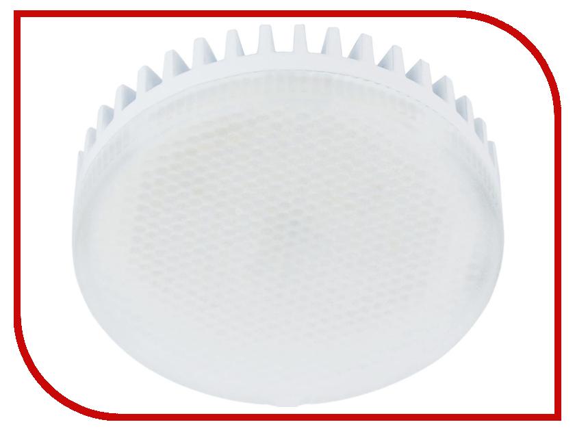 Лампочка Rev LED GX53 8W 3000К теплый свет 32565 9 лампочка rev led jcd g9 1 6w 3000k теплый свет 220v 32439 3