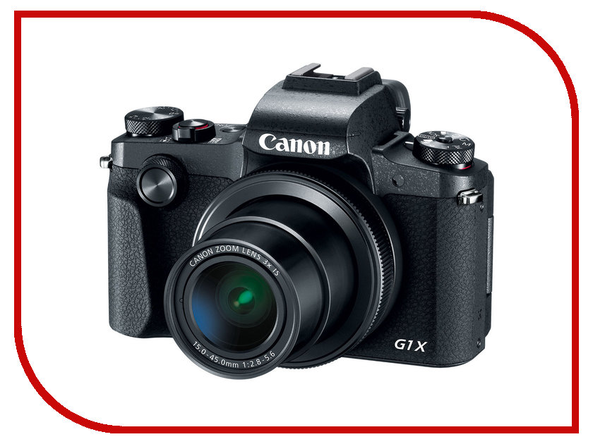 Фотоаппарат Canon PowerShot G1 X Mark III фотоаппарат canon powershot sx430 is 20mp 45xzoom черный 1790c002