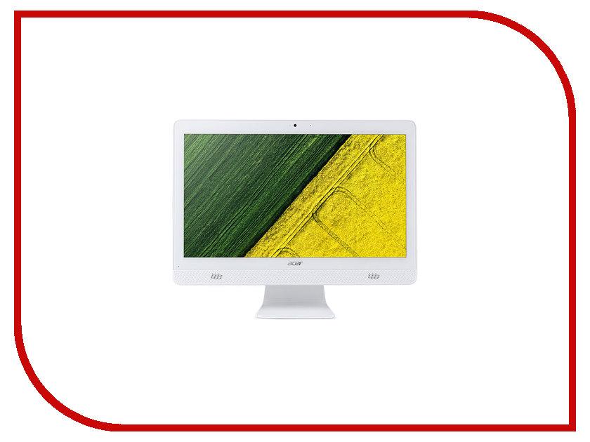 Моноблок Acer C20-720 White DQ.B6ZER.007 (Intel Pentium J3710 1.6 GHz/4096Mb/1000Gb/DVD-RW/Intel HD Graphics/Wi-Fi/Bluetooth/Cam/19.5/1600x900/Windows 10 64-bit)