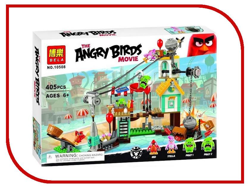 Конструктор Bela Angry Birds Разгром Свинограда 10508 конструктор bela автомобиль для перевозки заключённых 60043 10418