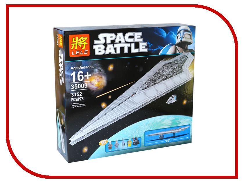 Конструктор Lele Space Battle Имперский Звездный Разрушитель 35003