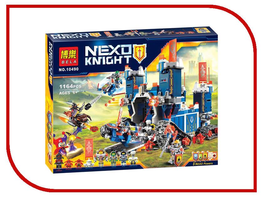 Конструктор BELA Nexo Knight 10490 Фортрекс - мобильная крепость lego nexo knights 70317 лего нексо фортрекс мобильная крепость