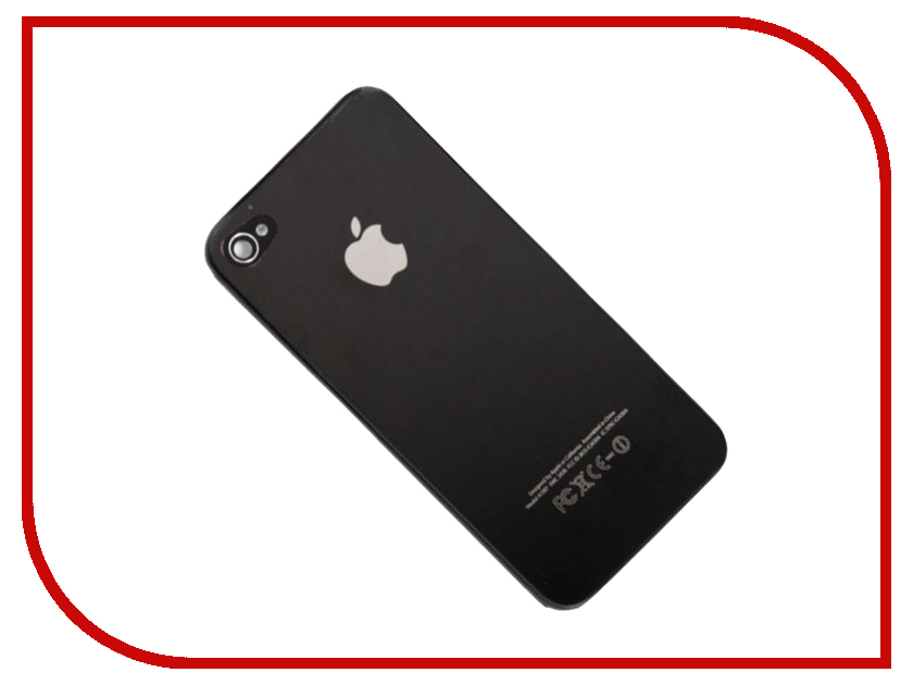 Корпус Zip для iPhone 4S Black 119421 корпус zip для iphone 6 plus white 397257