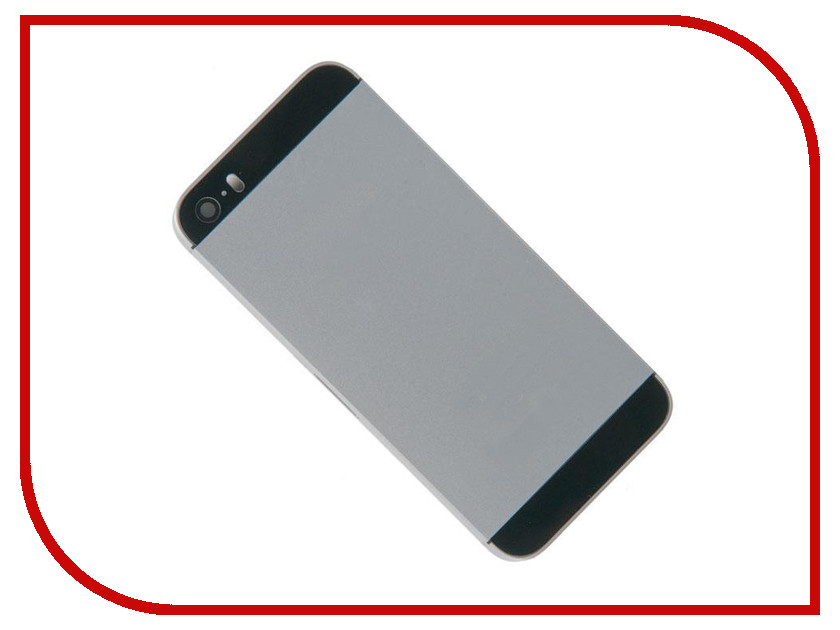 Корпус Zip для iPhone SE Black 525806 корпус zip для iphone 5 black 324053