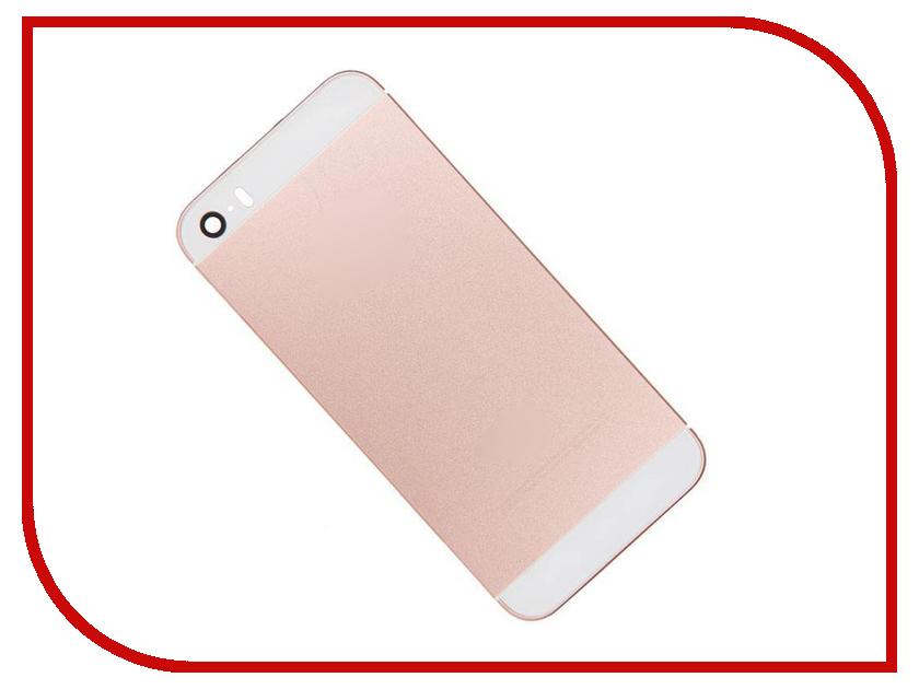 Корпус Zip для iPhone SE Rose Gold 525812