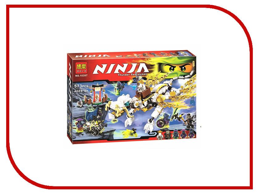 Конструктор Bela Ninja Дракон Сэнсэя Ву 10397 lepin pogo bela chima 10298 superhero ninja urban sapce wars figures building blocks bricks bricks compatible with legoe toys