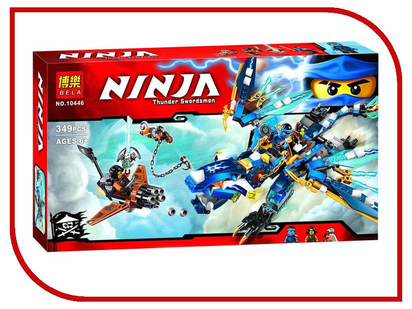 Конструктор Bela Ninja Дракон стихий Джея 10446 конструктор bela ninja ниндзя сверхзвуковой рейдер 645 дет 31041