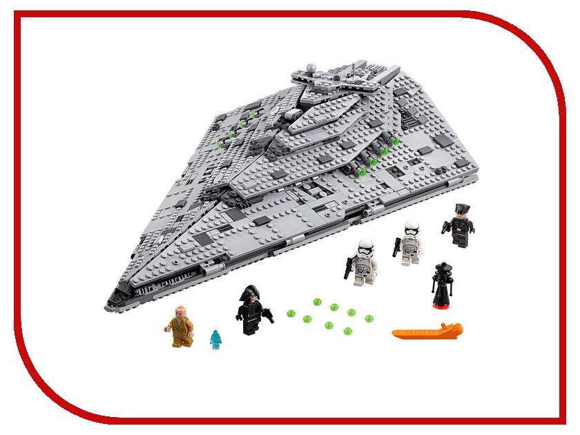 Конструктор Lego Star Wars Звездный разрушитель Первого Ордена 75190 конструктор lego star wars тяжелый разведывательный шагоход первого ордена 75177 l