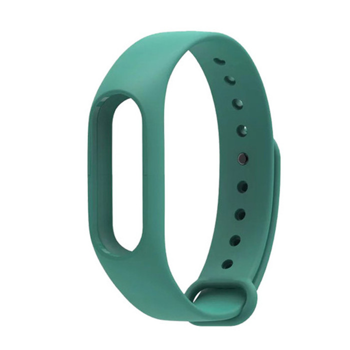 Aксессуар Ремешок Xiaomi Mi Band 2 Silicone Dark Green