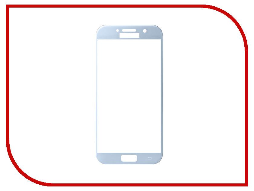 Аксессуар Защитное стекло Samsung Galaxy A5 2017 Mobius 3D Full Cover Blue