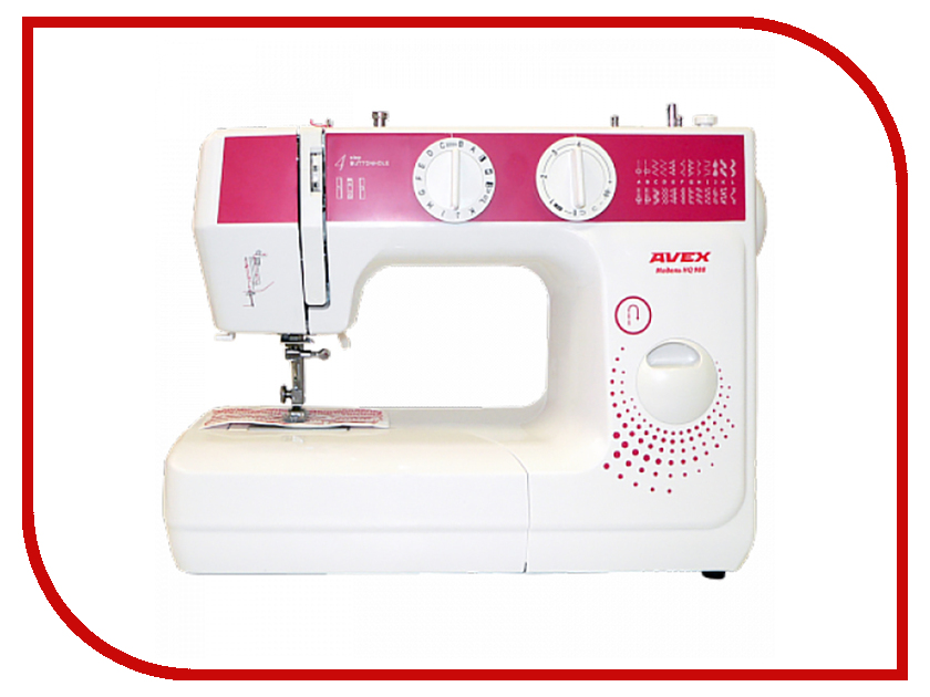 Швейная машинка Avex HQ 988 швейная машина brother hq 12 белый рисунок hq 12