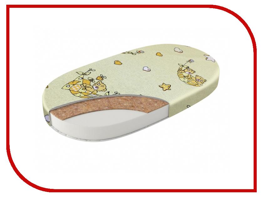 Детский матрас Sweet Baby Cocos Comfort Овальный Экобязь 405670 каталка sweet baby giro pink