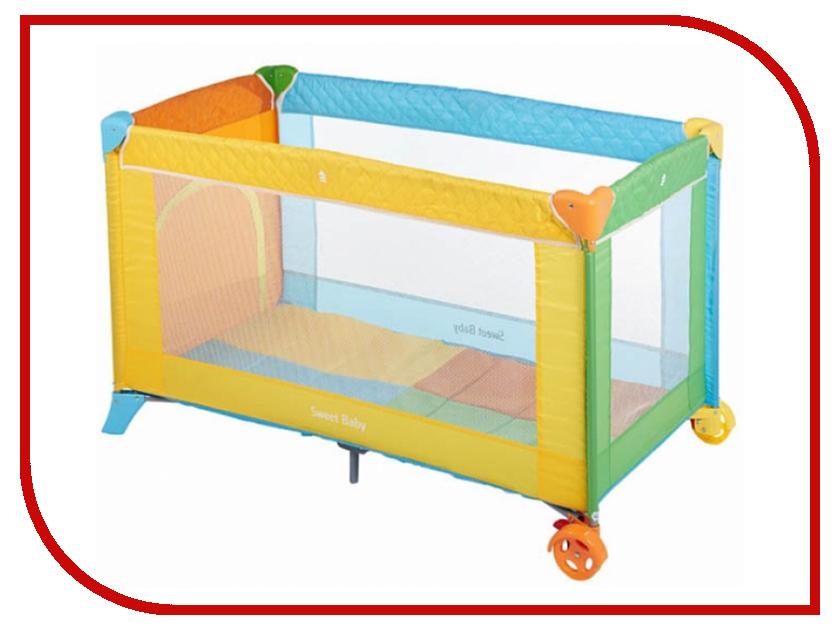 Манеж-кровать Sweet Baby Carnevale Colore 325343 игровой манеж sweet baby carnevale colore quadro 389 766