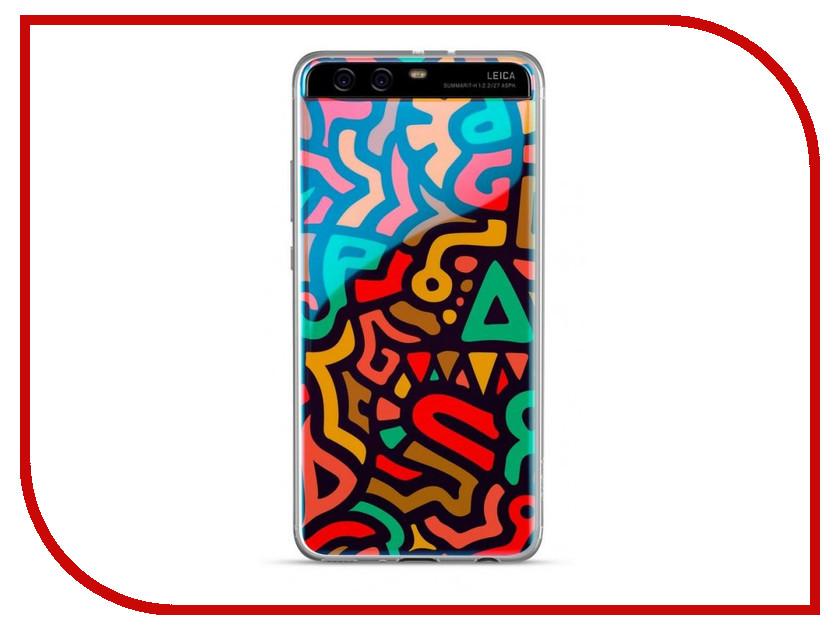 Аксессуар Чехол Huawei Doodle/P10 Cover Multi-Color 51991998 huawei leica p10