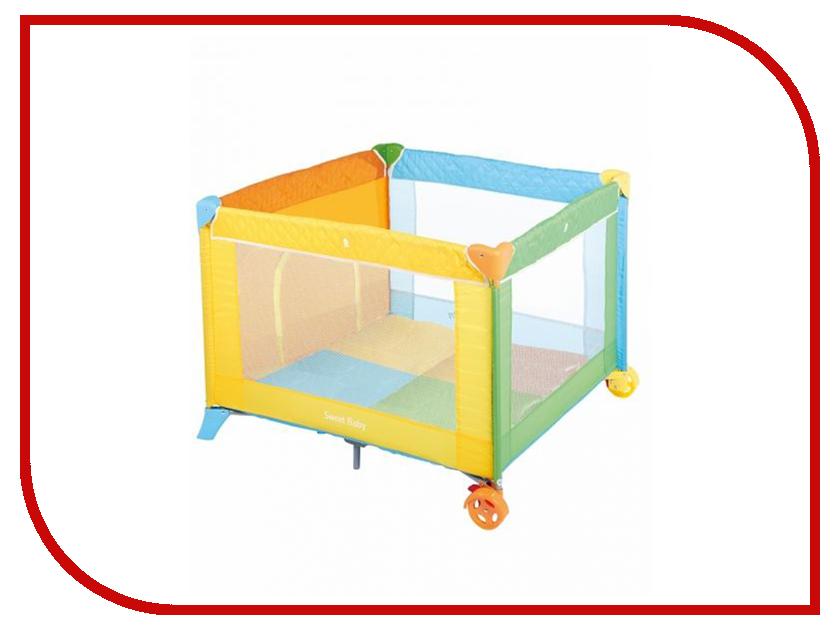 Манеж-кровать Sweet Baby Carnevale Colore Quadro 389766 игровой манеж sweet baby carnevale colore quadro 389 766