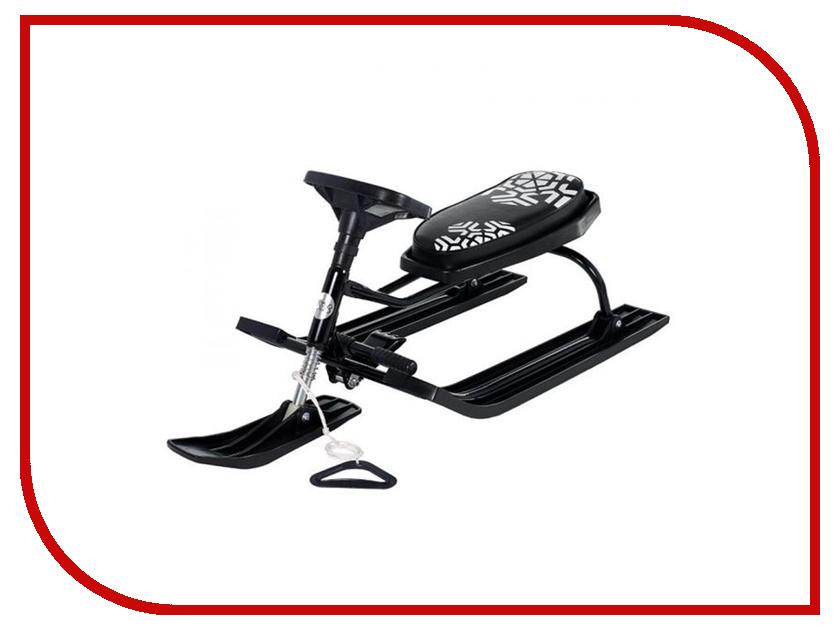 Снегокат Sweet Baby Snow Rider Black 394843 тюбинг small rider snow cars 2 110x86cm ranger bronze 3687715