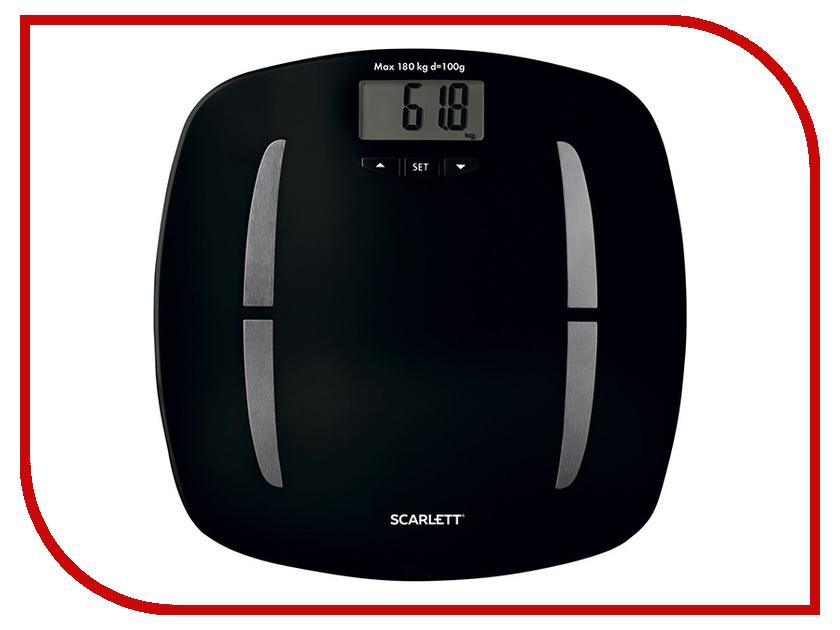 Весы напольные Scarlett SC-BS33ED83 Black scarlett sc mg45m13 black мясорубка