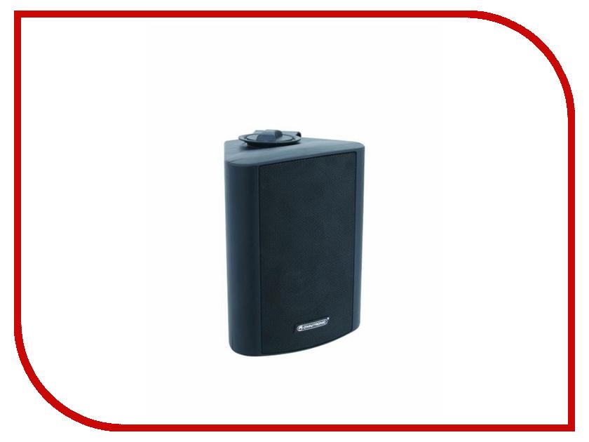 Колонки Omnitronic WP-5S PA Wall Speaker Black wp