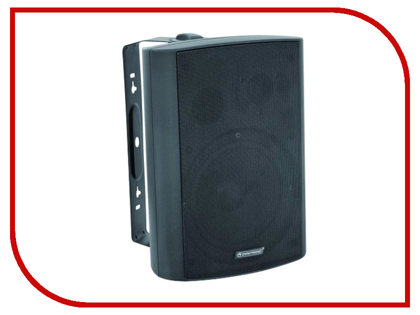 Фото Колонки Omnitronic WP-6S PA Wall Speaker Black