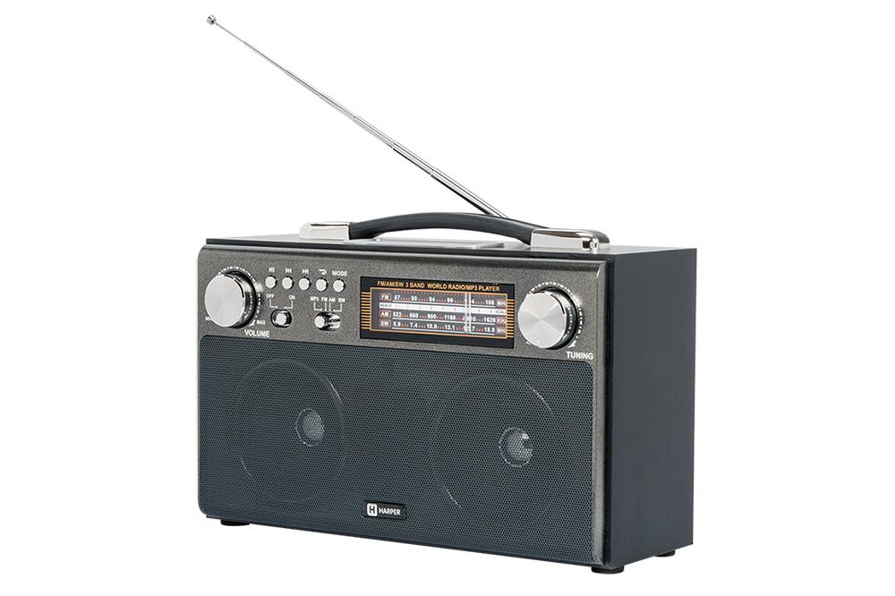 Радиоприемник Harper HDRS-033 Black
