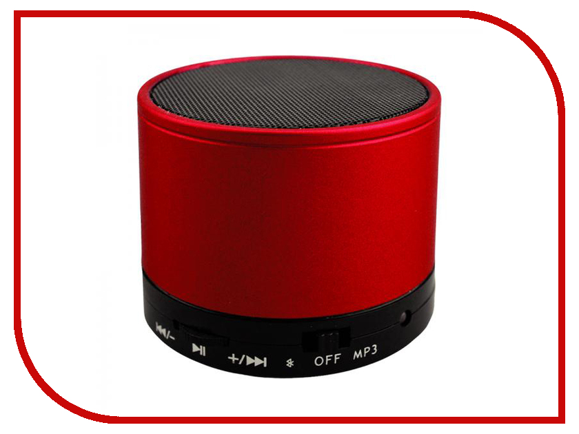 Колонка Perfeo Can Red PF-BT-CN-RD портативная колонка perfeo sound ranger red