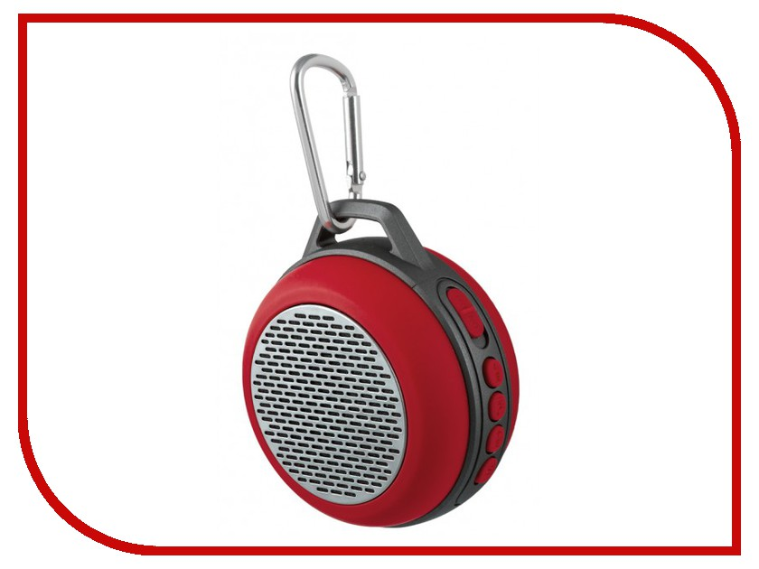 Колонка Perfeo Solo Red PF-BT-SOLO-RD портативная колонка perfeo sound ranger red