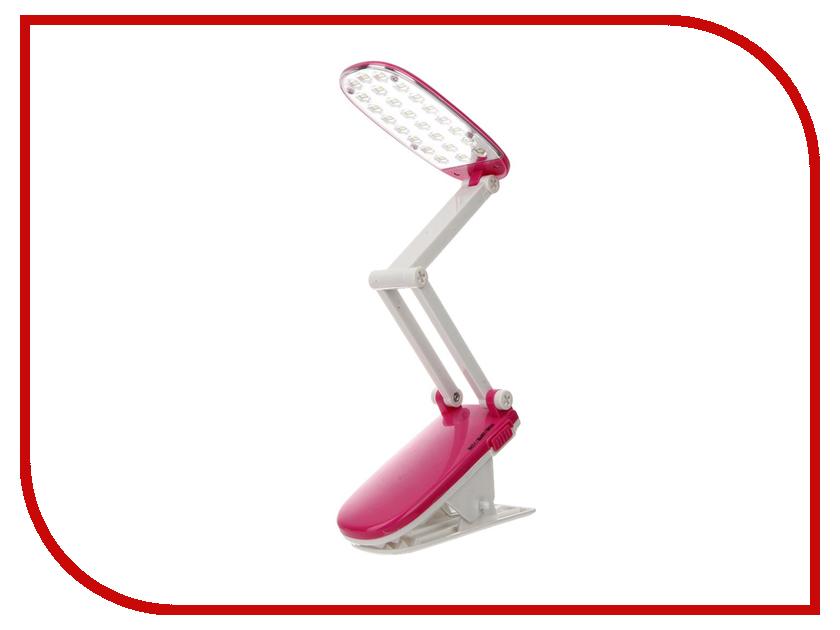 Настольная лампа UltraFlash UF-704 С14 Pink 12381