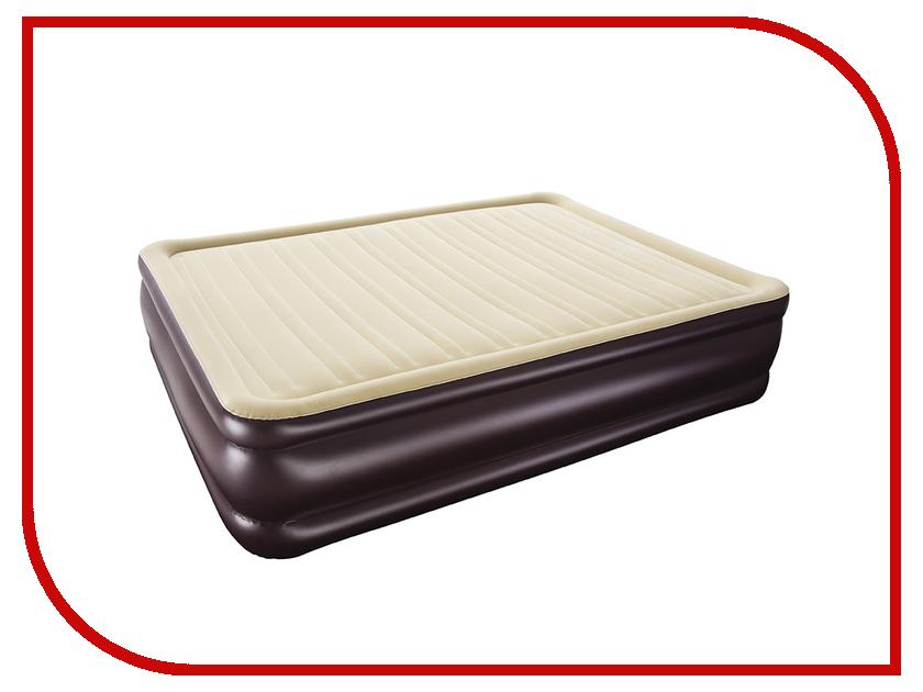 Надувной матрас BestWay Cornerstone Airbed 203x152x43 67597 надувная кровать bestway 67600 bw cornerstone airbed 203х152х43 см встроенный электронасос уп 2