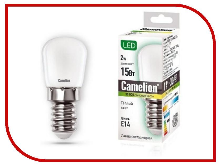 все цены на Лампочка Camelion LED2-T26/830/E14 онлайн