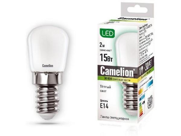 Лампочка Camelion E14 15W 220V 3000K 100Lm LED2-T26/830/E14