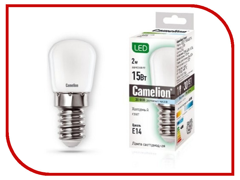 все цены на Лампочка Camelion LED2-T26/845/E14 онлайн