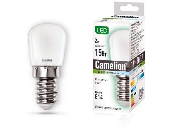 Лампочка Camelion E14 15W 220V 4500K 105Lm LED2-T26/845/E14