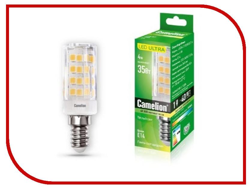 Лампочка Camelion LED4-S105/830/E14 лампочка camelion 6w 220v led6 r50 830 e14