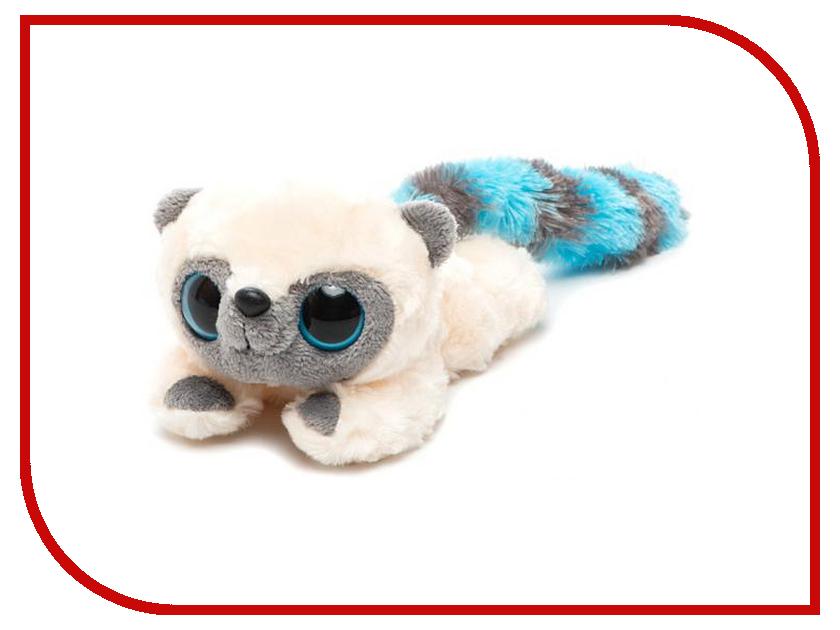 Игрушка Aurora Юху и друзья Юху лежачий 16cm Light Blue 16-100 aurora мягкая игрушка панда 12см юху и друзья aurora