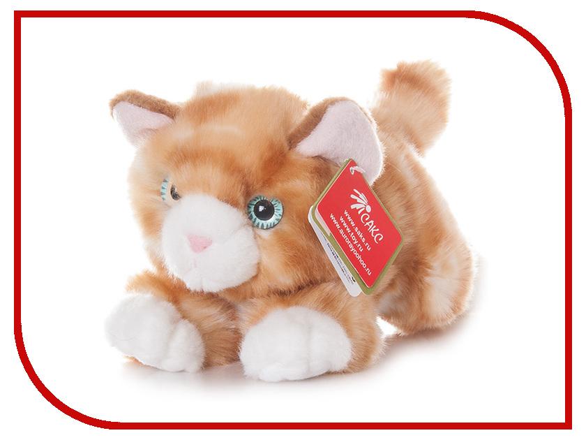 игрушка Aurora Котик 22cm Ginger 22-301 котик басик заказать