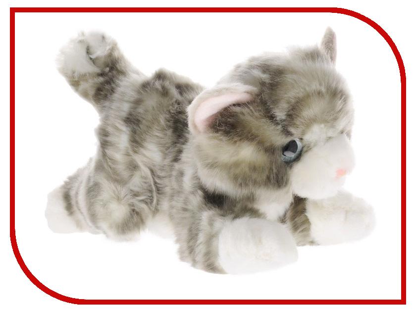 игрушка Aurora Котик 22cm Grey 22-302 котик басик заказать