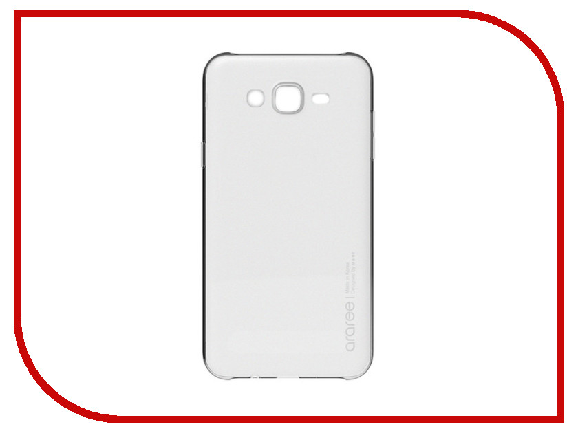 Аксессуар Чехол Samsung Galaxy J7 Neo Araree Transparent GP-J700KDCPBAA аксессуар защитное стекло samsung galaxy j7 neo solomon