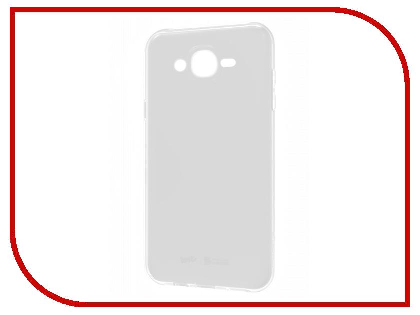 Аксессуар Чехол Samsung Galaxy J7 Neo Araree Wits Soft Transparent GP-J700WSCPAAA аксессуар защитное стекло samsung galaxy j7 neo solomon
