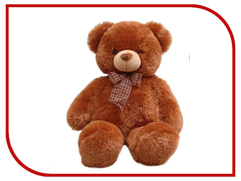 Игрушка Aurora Медведь с бантом 69cm Brown 30-349 aurora медведь медовый с бантом 69см 30 249