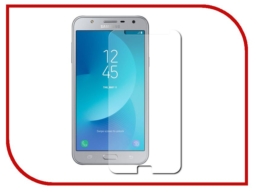Аксессуар Защитная пленка Samsung Galaxy J7 Neo Araree Wits Soft прозрачная GP-J700WSEFAAA аксессуар защитное стекло samsung galaxy j7 neo solomon