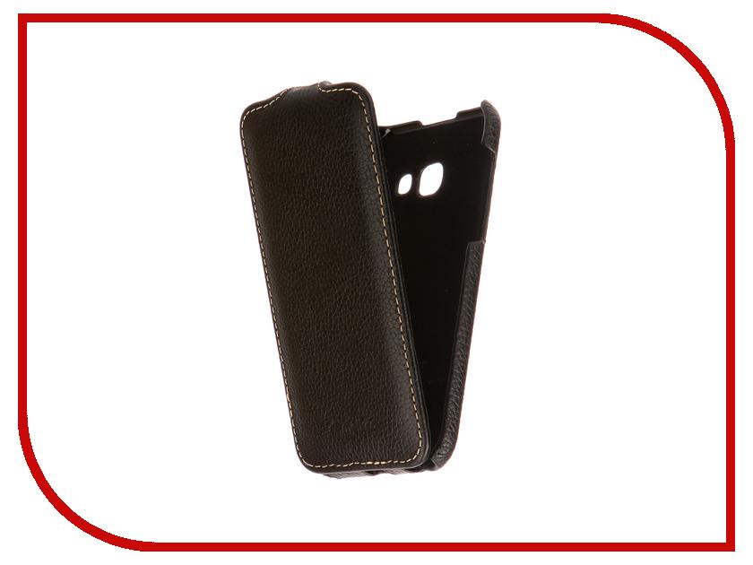 Аксессуар Чехол Samsung Galaxy A3 2017 Melkco Black 15201 аксессуар чехол накладка samsung galaxy note 5 melkco transparent mat 8165