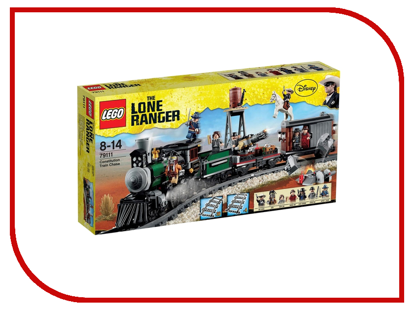 Конструктор Lego The Lone Ranger 79111 lone official lone official tuckassee take