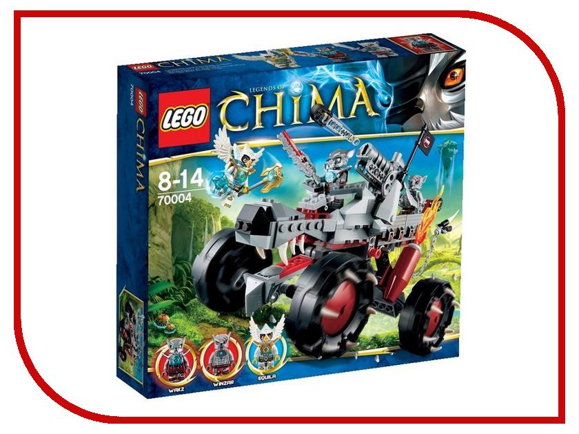 Конструктор Lego Legends of Chima Разведчик Вакза 70004 комплект постельного белья lego chima lion голубой lego