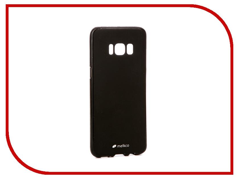 для Samsung 13909  Аксессуар Чехол Samsung Galaxy S8 Melkco Silicone TPU Mat Black 13909