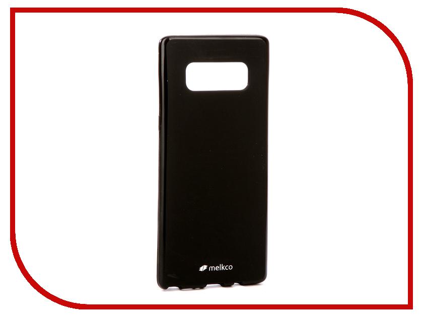Аксессуар Чехол Samsung Galaxy Note 8 Melkco Silicone TPU Mat Black 15650 аксессуар чехол накладка micromax canvas viva a106 activ silicone black mat 46857